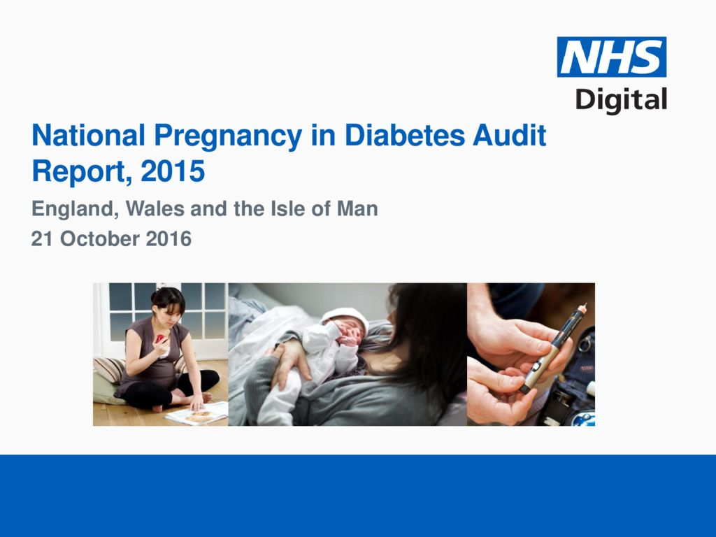 National Pregnancy in Diabetes Audit Report 2015