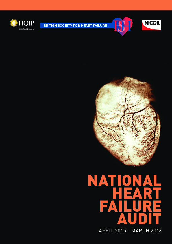 National Heart Failure Audit Report April 2015-March 2016