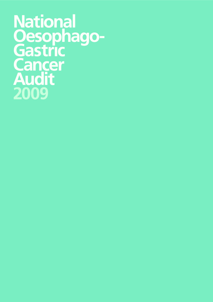 National Oesophago- Gastric Cancer Audit 2009