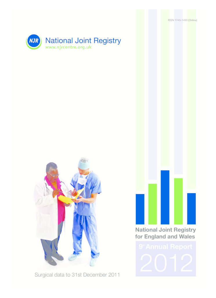National Joint Registry 9th Annual Report 2012
