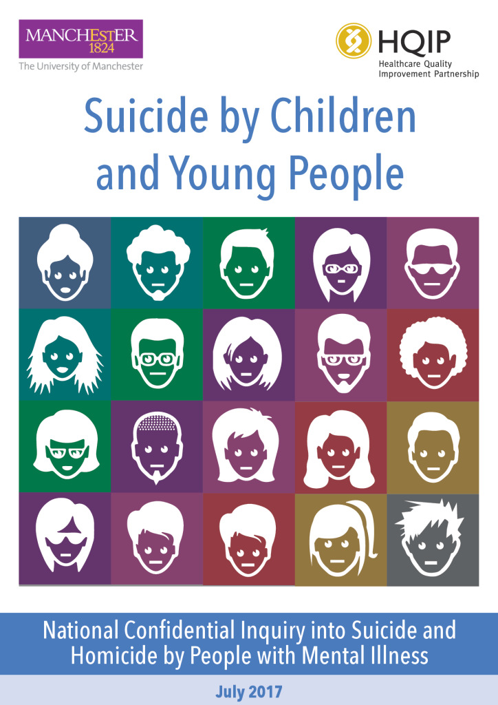 Report: Suicide by Children and Young People 2017