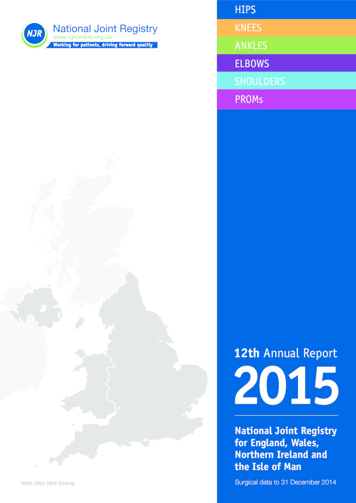 National Joint Registry 12th Annual Report 2015