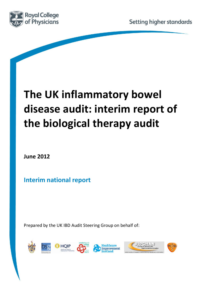 Inflammatory Bowel Disease National Clinical Audit Project: Reports from 2012 to 2015