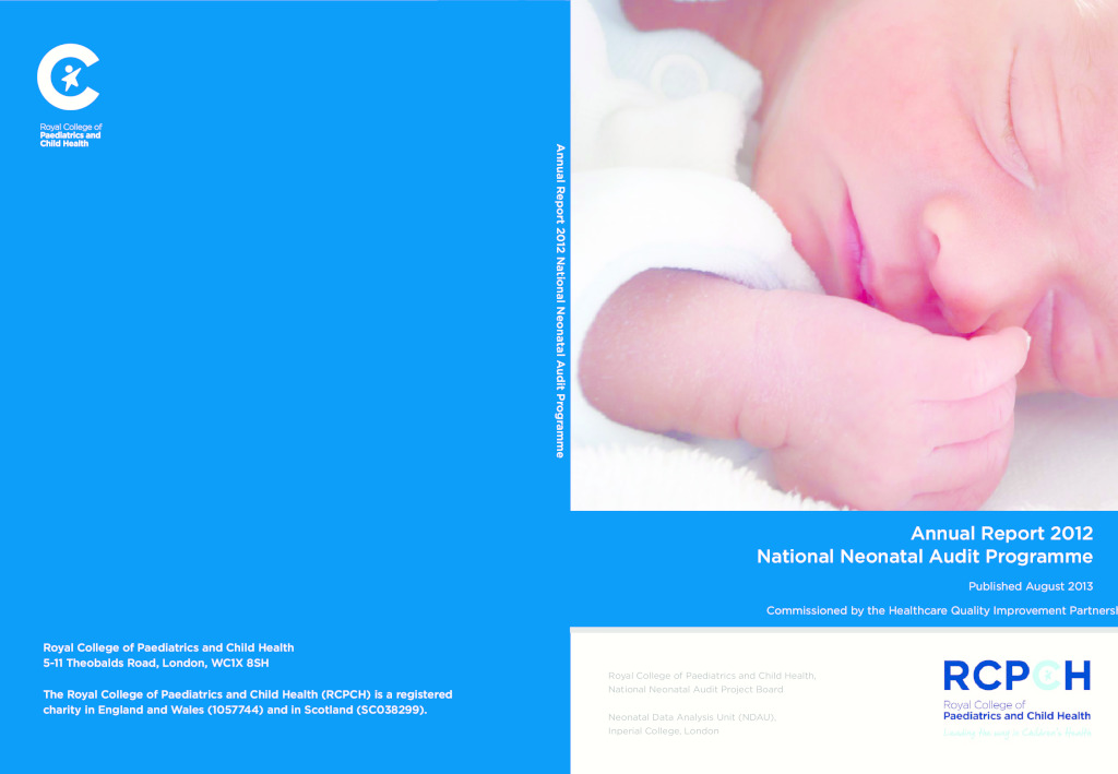 National Neonatal Audit Programme Annual Report 2012