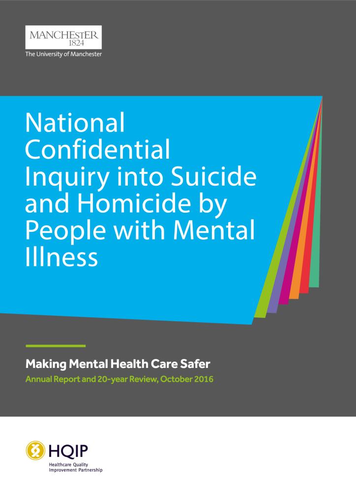 Making mental health care safer: Annual report and 20-year review