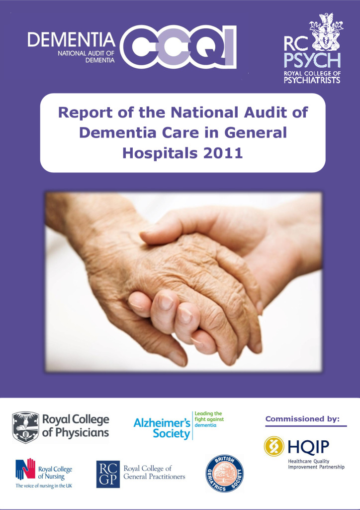 Report of the National Audit of Dementia Care in General Hospitals 2011