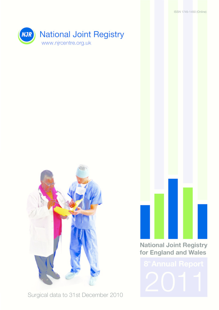 National Joint Registry 8th Annual Report 2011