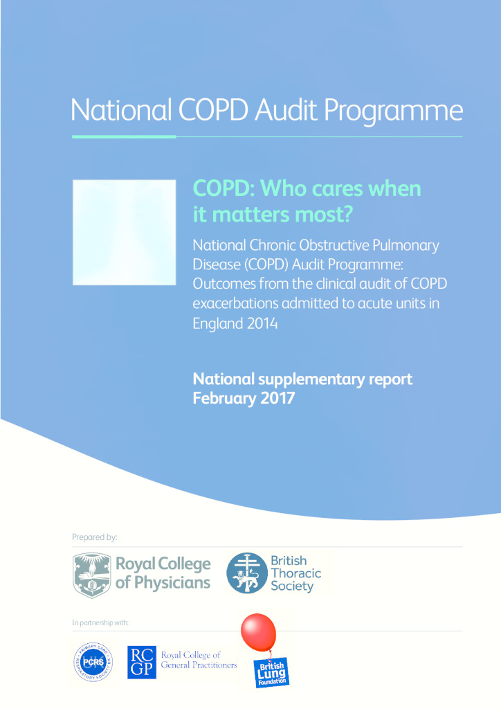 National COPD Audit Programme: National supplementary report February 2017