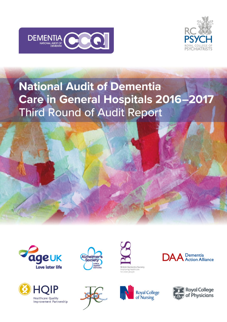 National Audit of Dementia Care in General Hospitals 2016-2017: Third Round of Audit Report
