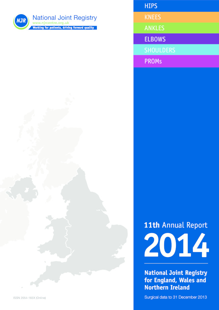 National Joint Registry 11th Annual Report 2014