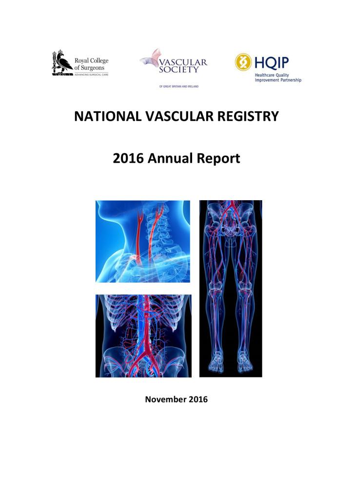 National Vascular Registry 2016 Annual Report