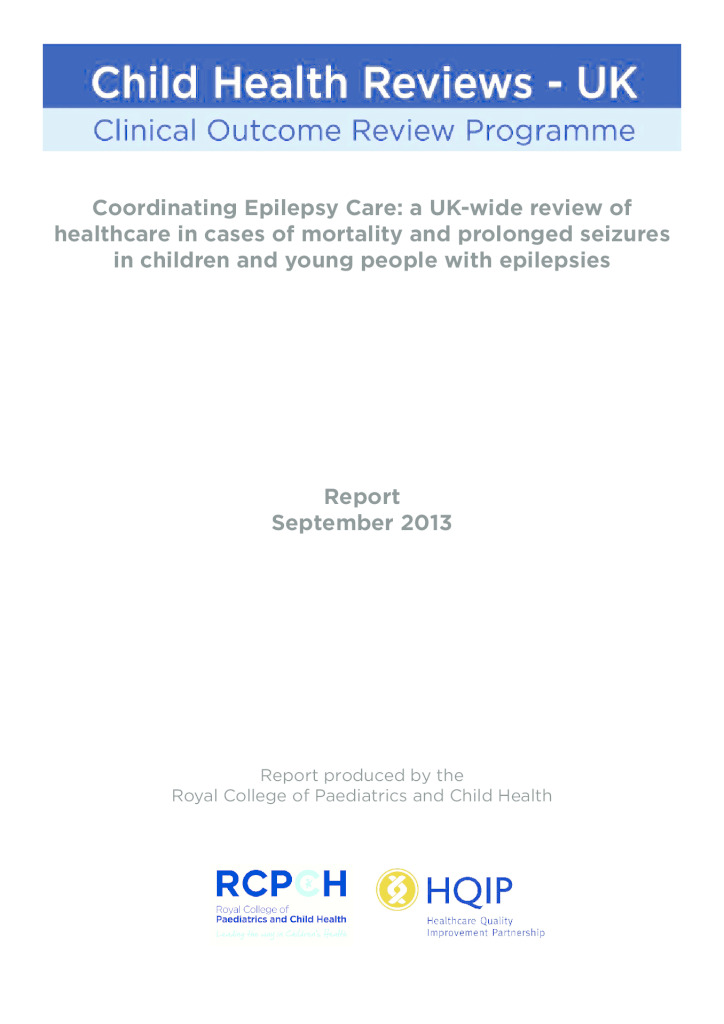 UK review of mortality and prolonged seizures in children with epilepsy