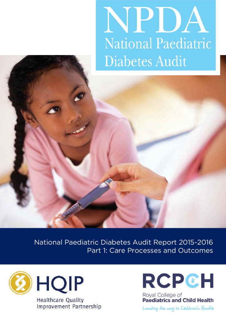 National Paediatric Diabetes Audit Report 2015-2016