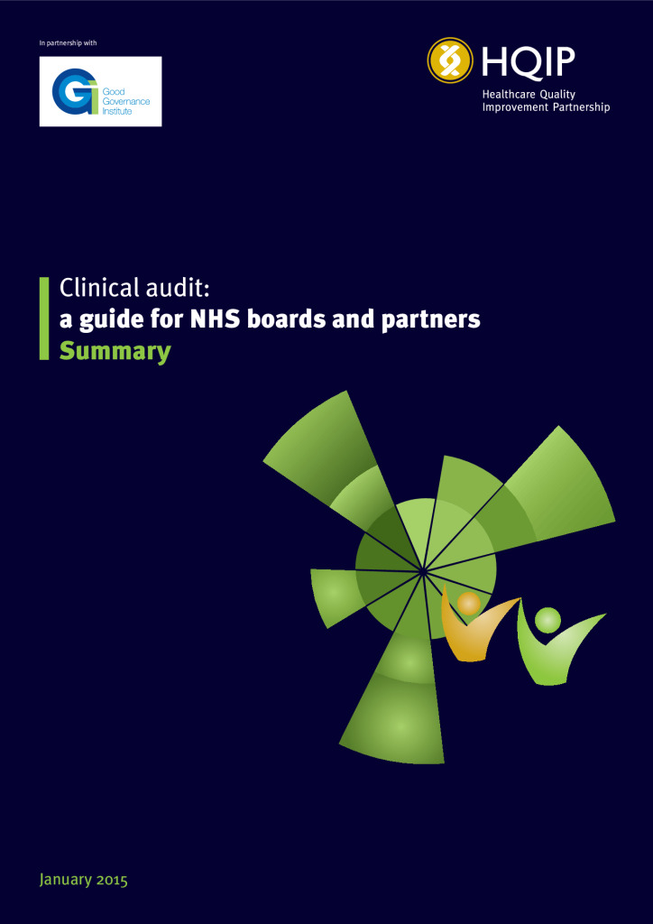 Clinical audit for NHS Boards and partners: summary guide