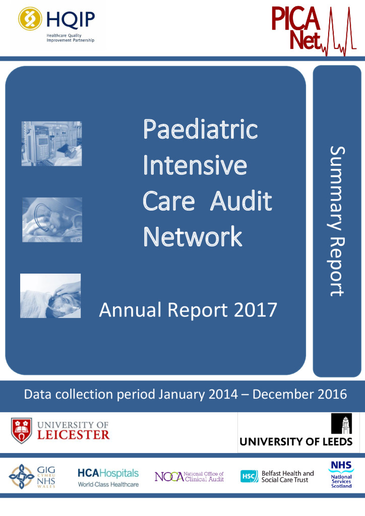 Paediatric Intensive Care Audit Network: Annual Report 2017