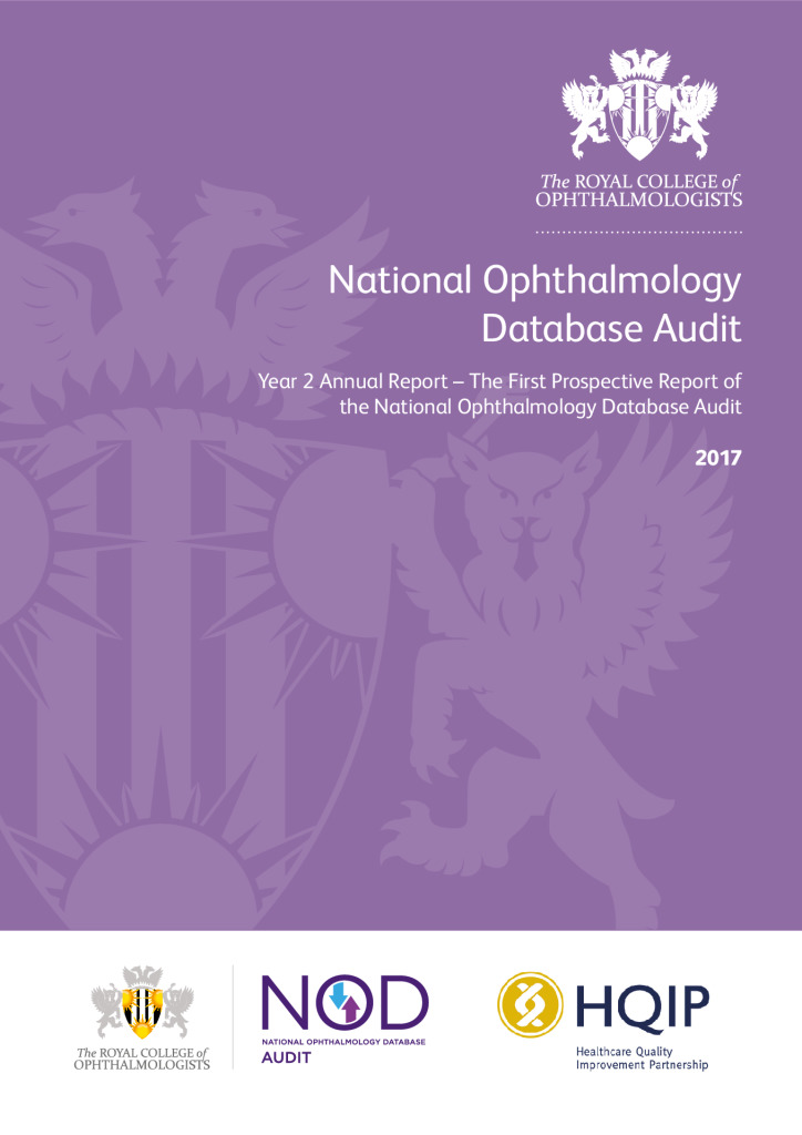 The First Prospective Report of the National Ophthalmology Database Audit: Year 2 Annual Report