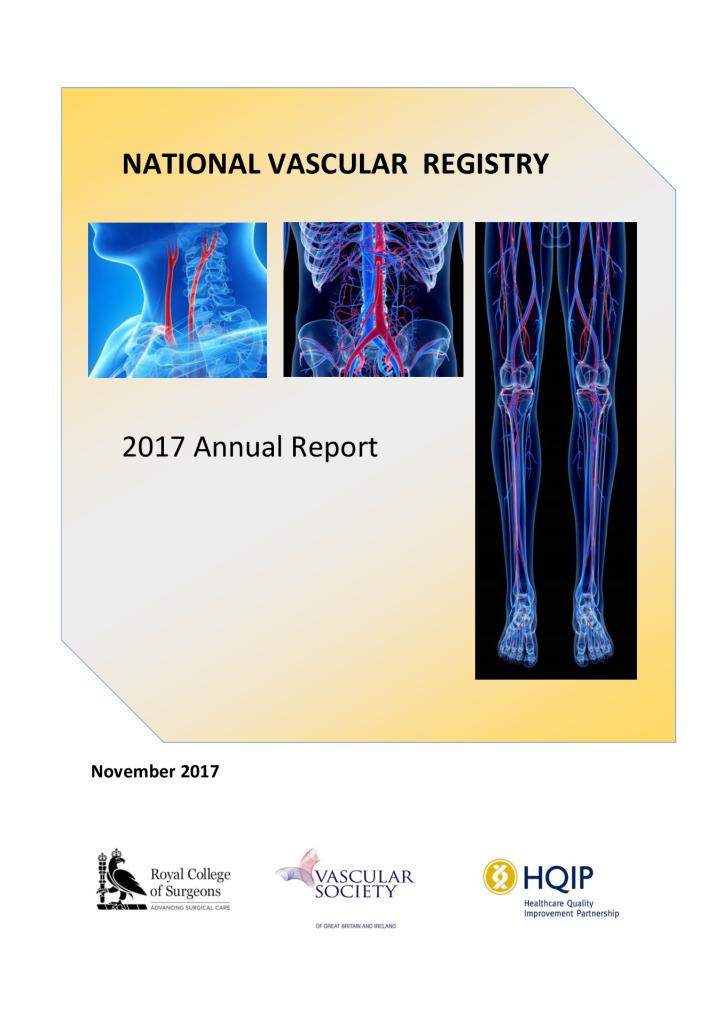 National Vascular Registry: Annual report 2017