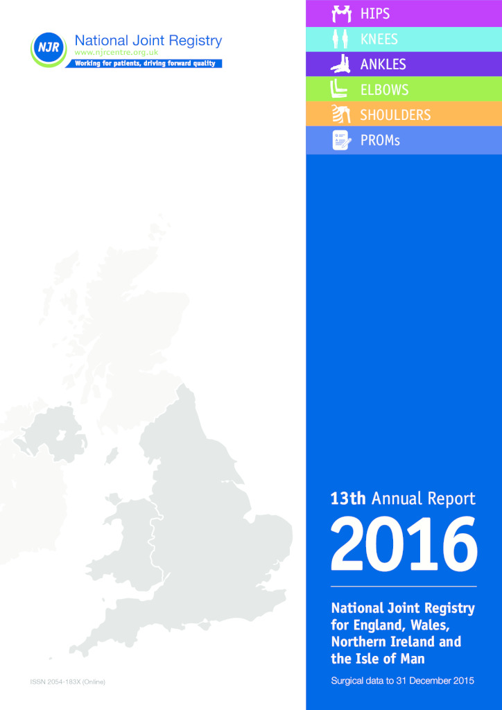 National Joint Registry 13th Annual Report 2016