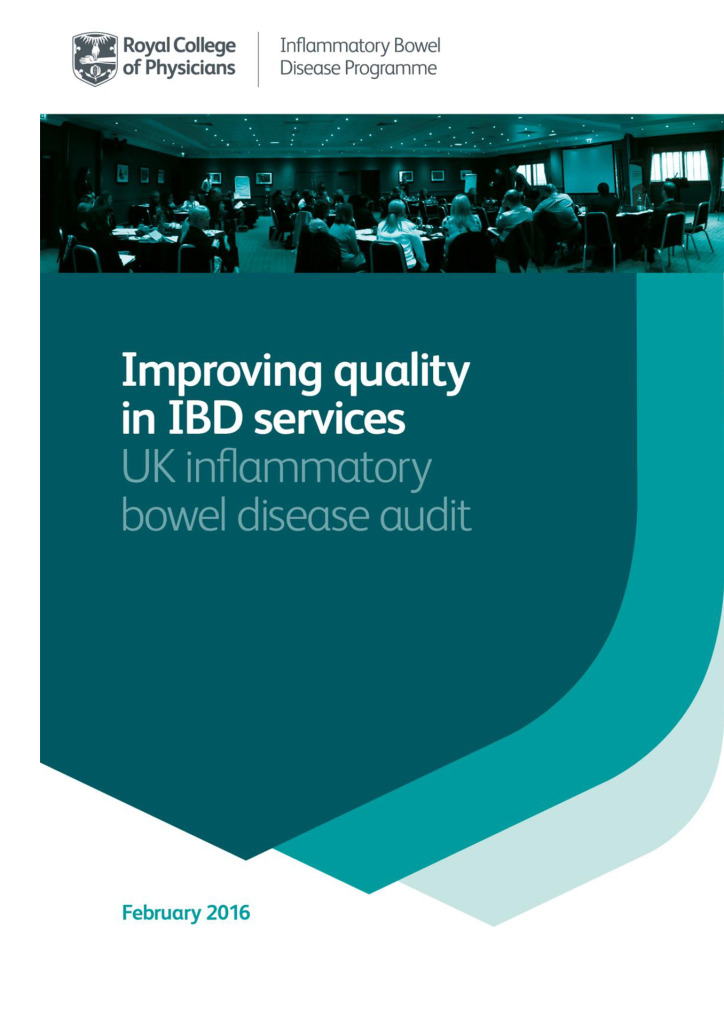Improving quality in IBD services: UK inflammatory bowel disease audit