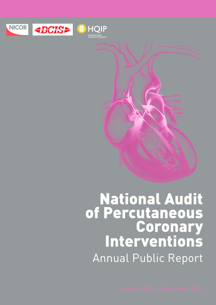 National Audit of Percutaneous Coronary Interventions annual report