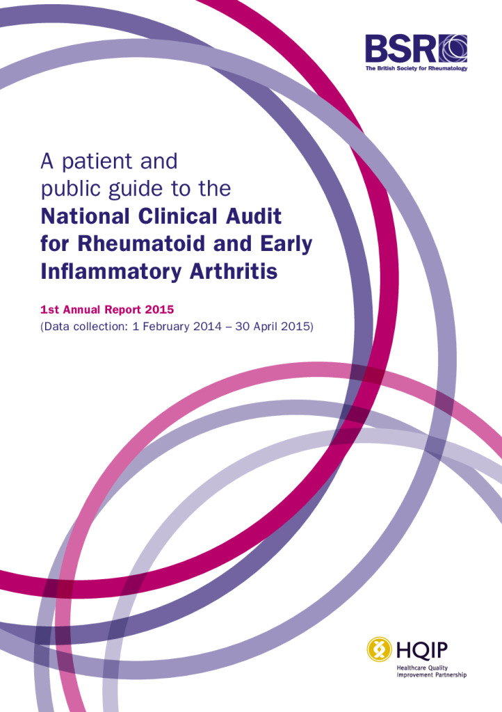 A patient and public guide to the National Clinical Audit for Rheumatoid and Early Inflammatory Arthritis