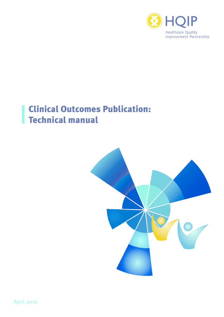 Clinical Outcomes Publication – technical manual