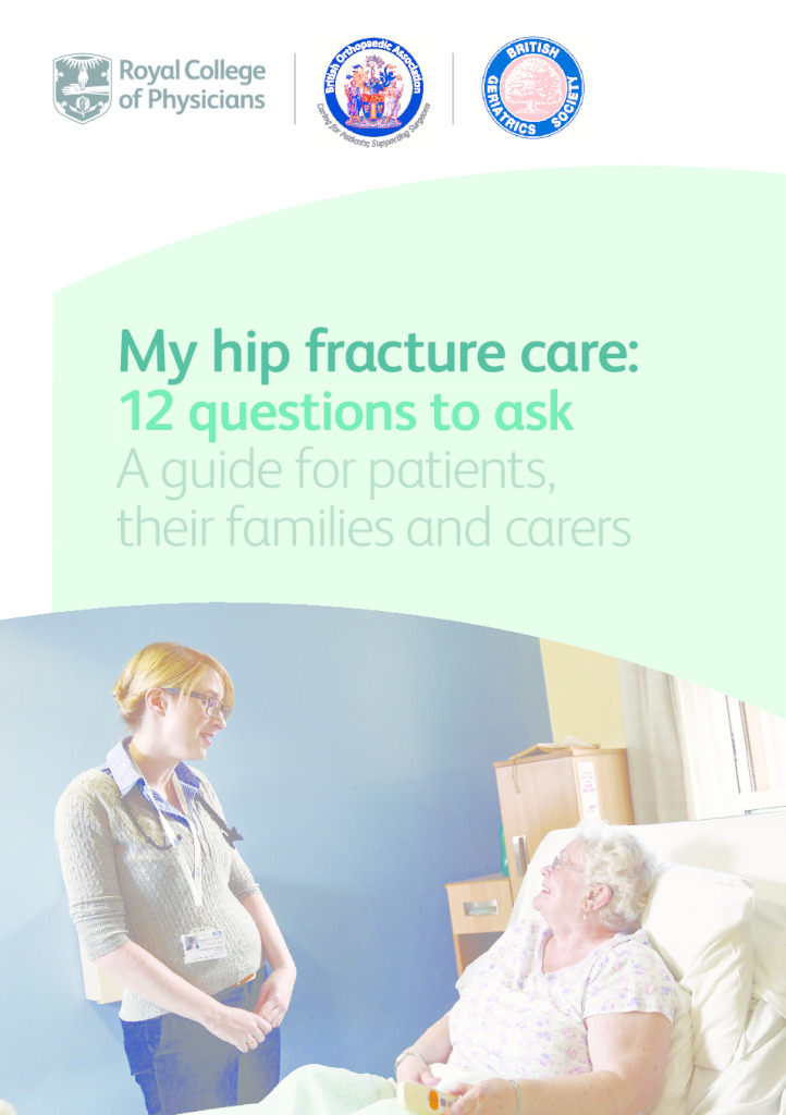 My hip fracture care: 12 questions to ask