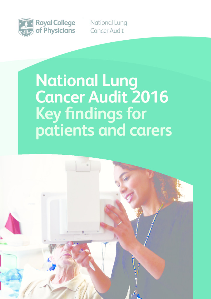 National Lung Cancer Audit 2016: Key findings for patients and carers