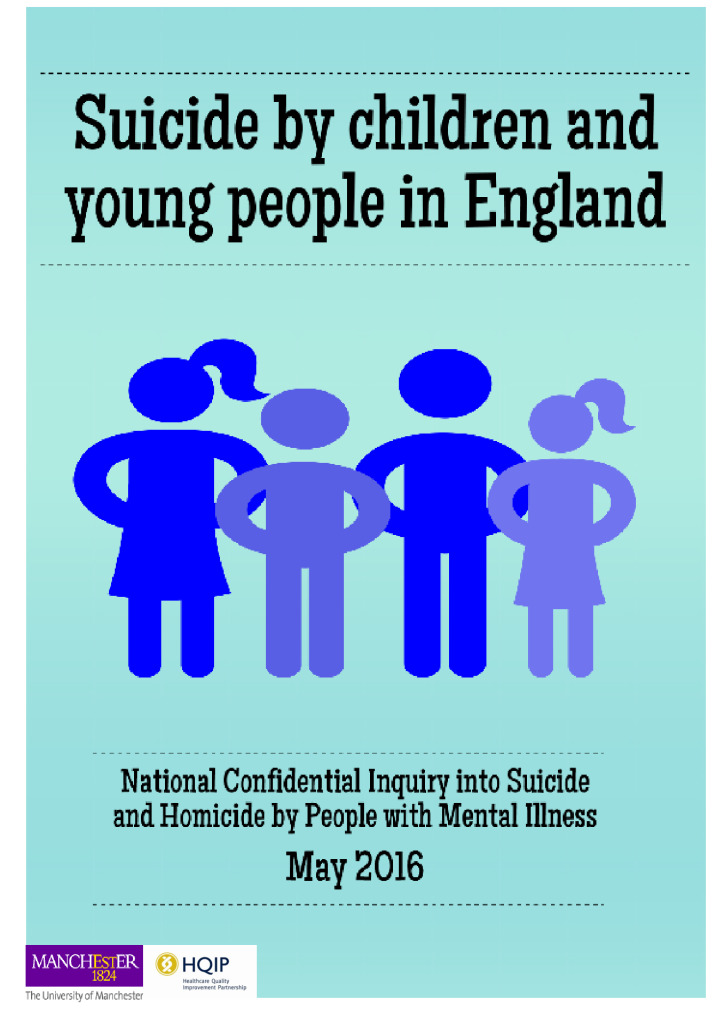 Report: suicide by children and young people in England