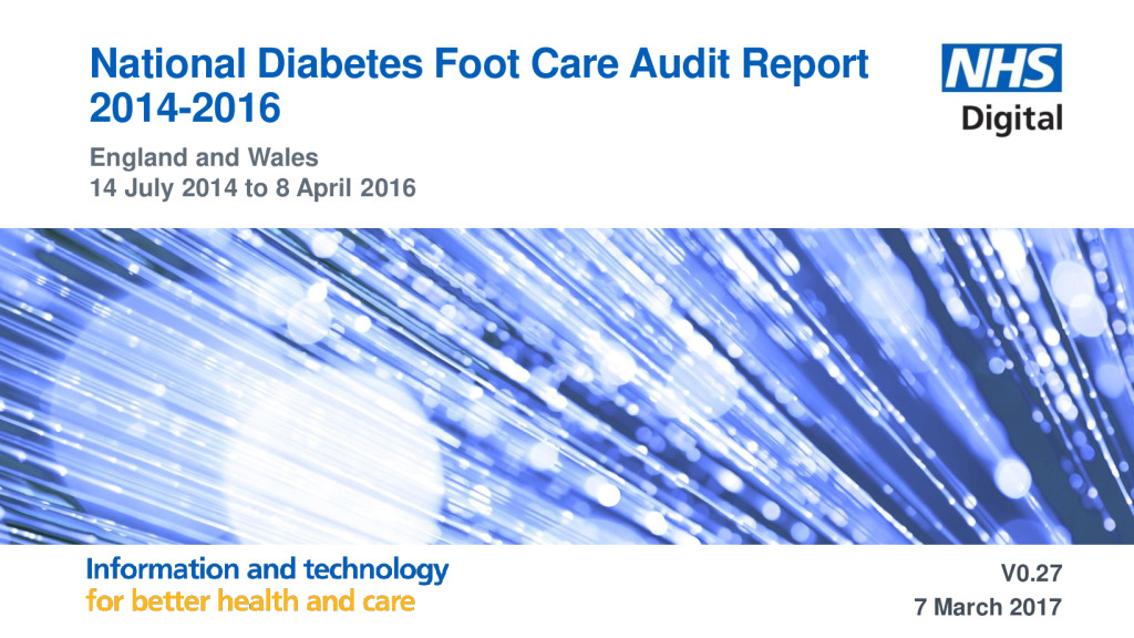 National Diabetes Foot Care Audit Report 2014-2016