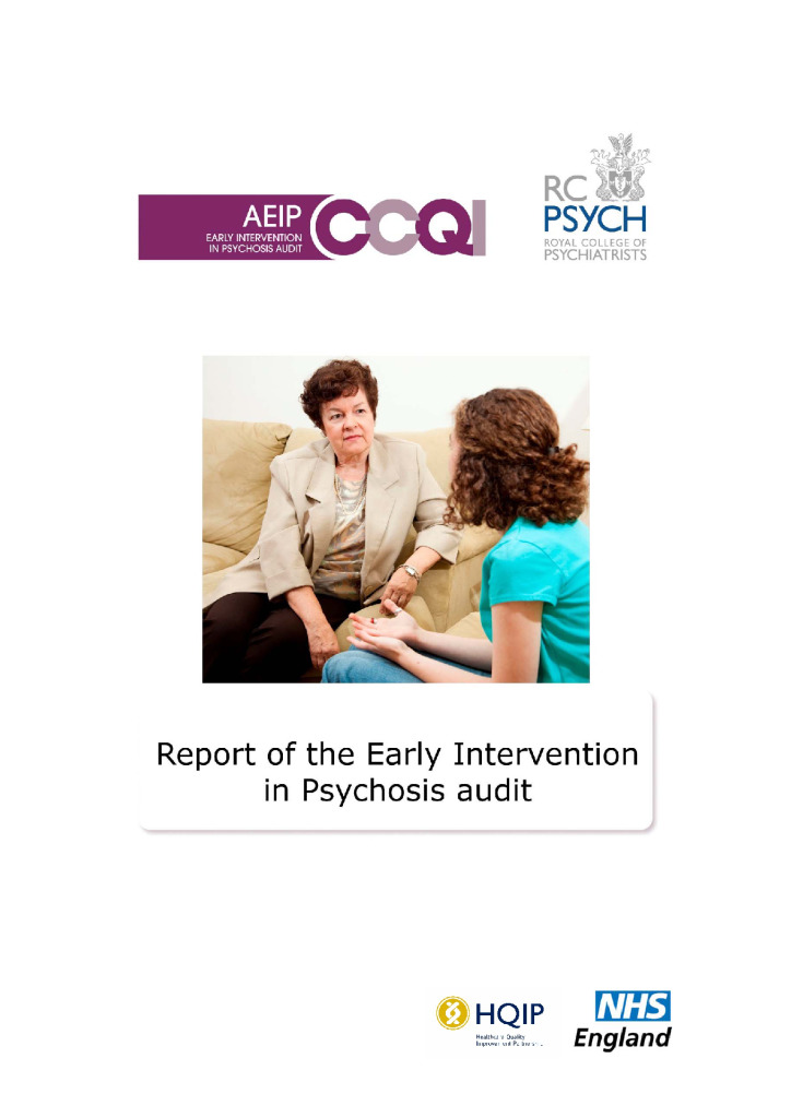Early Intervention in Psychosis Audit report