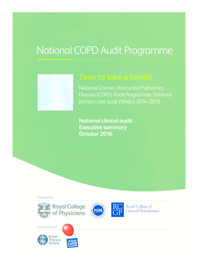 Executive Summary for National COPD Audit Programme Oct 2016