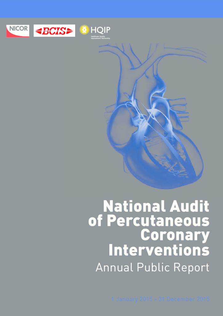 National Audit of Percutaneous Coronary Intervention Annual Public Report