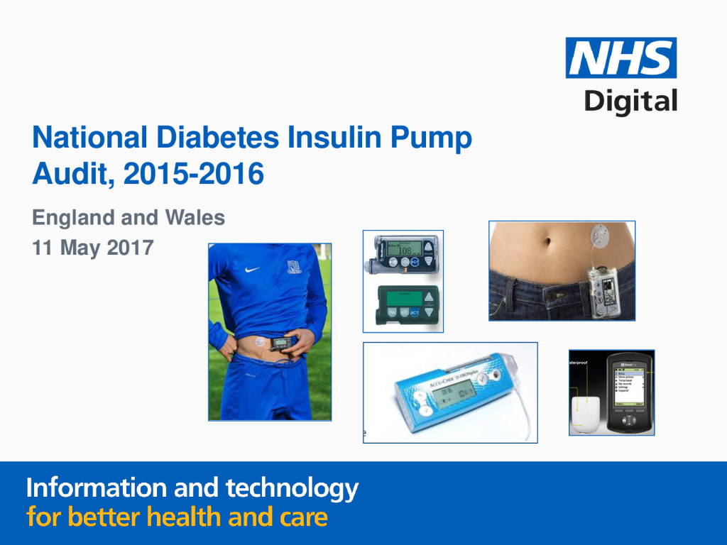 Report: National Diabetes Insulin Pump Audit, 2015-2016