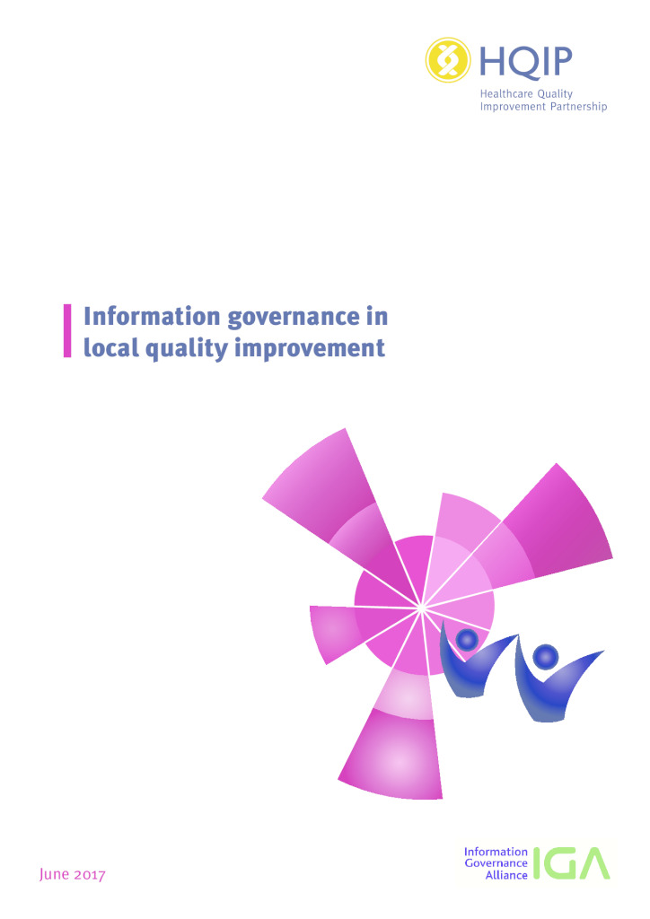 Information Governance in local quality improvement