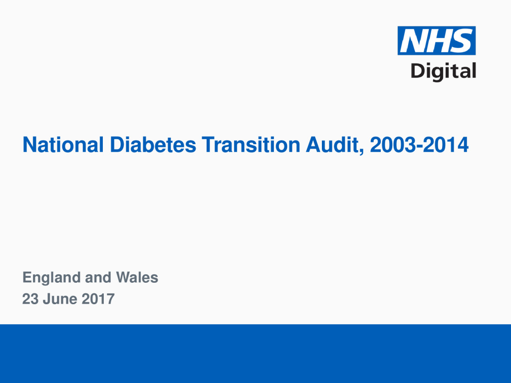 National Diabetes Transition Audit Report