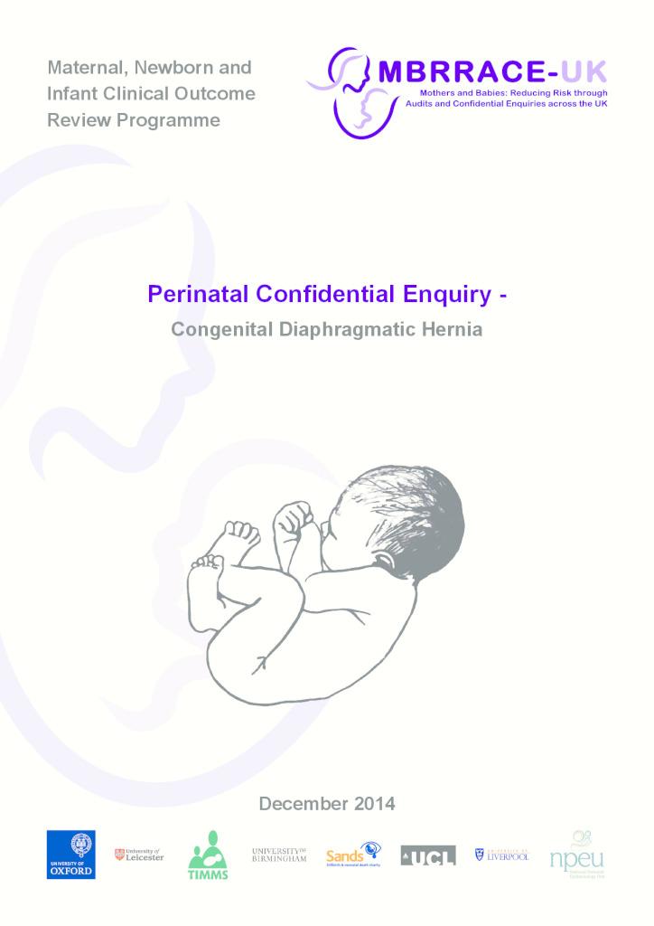 Congenital diaphragmatic hernia report
