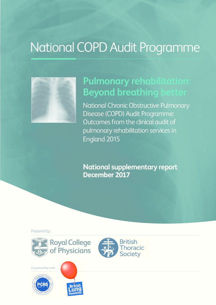 National COPD Audit Programme: Outcomes from the clinical audit of pulmonary rehabilitation services in England 2015