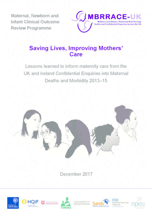 Maternal Newborn And Infant Outcome Review Programme Hqip