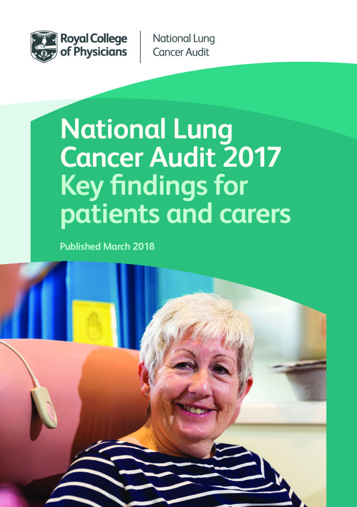 National Lung Cancer Audit 2017- Key findings for patients and carers