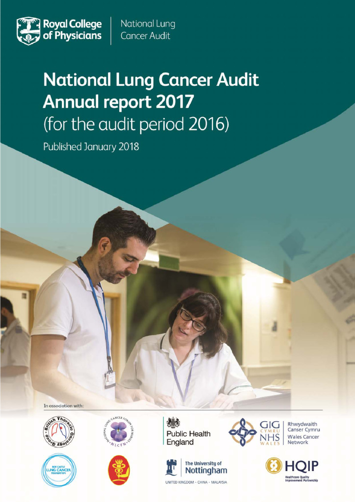 National Lung Cancer Audit annual report 2017