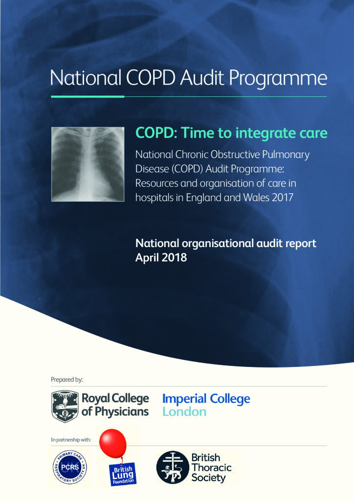 COPD National Audit Programme: Resources and organisation of Care in hospitals: Time to integrate care