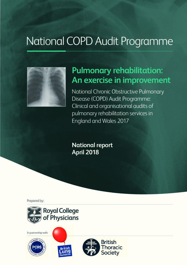 COPD National report 2018: Pulmonary rehabilitation, an exercise in improvement