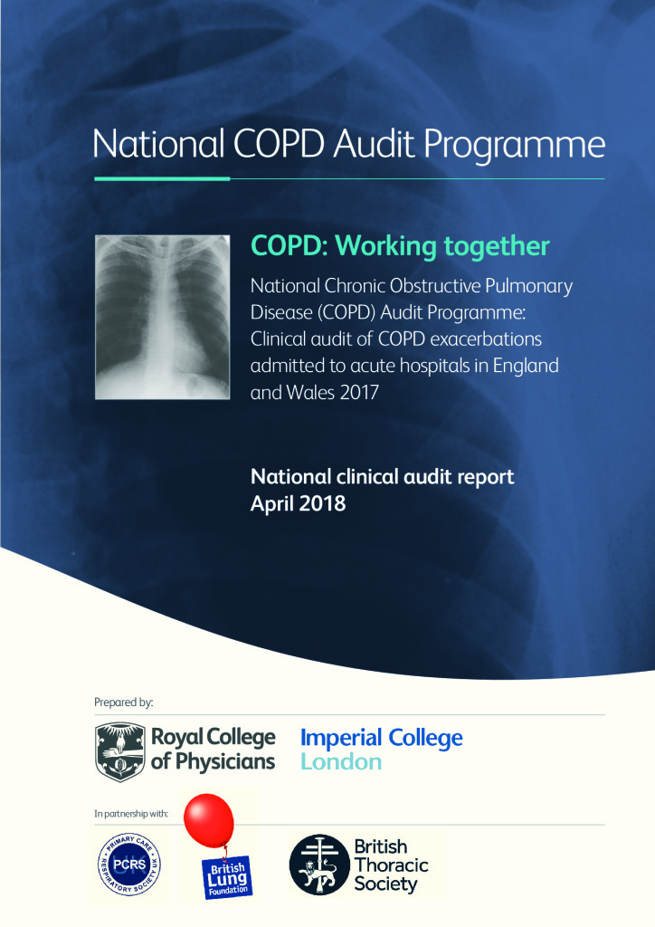 Chronic Obstructive Pulmonary Disease: Secondary care clinical audit 2017: Working together