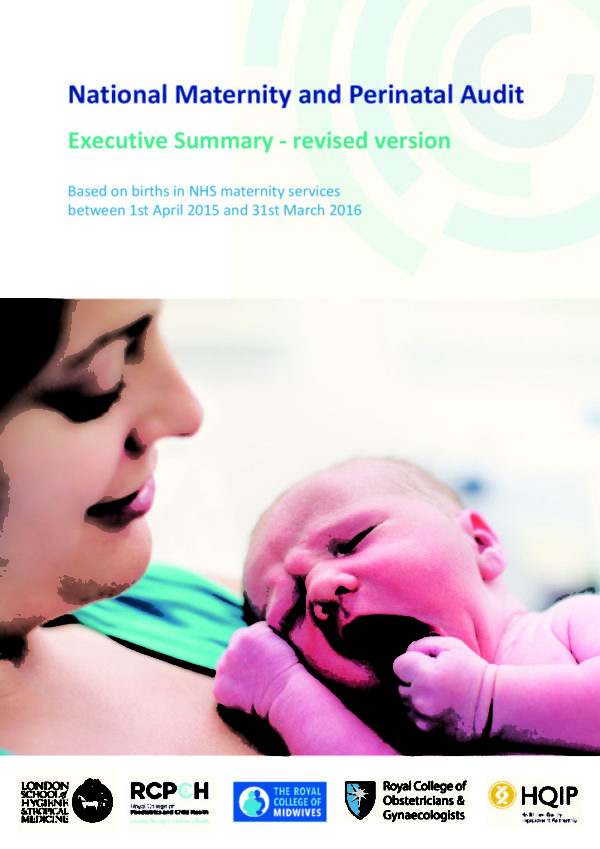 thumbnail of National Maternity and Perinatal Audit Clinical Exec Summary 2017