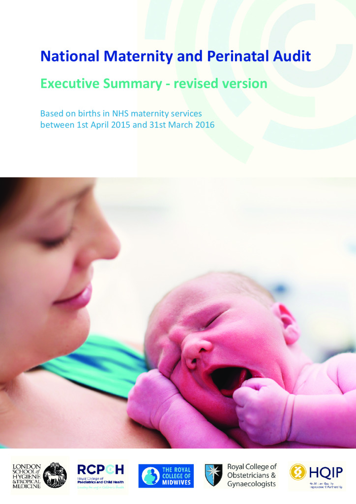 National Maternity and Perinatal Audit: Clinical report 2017