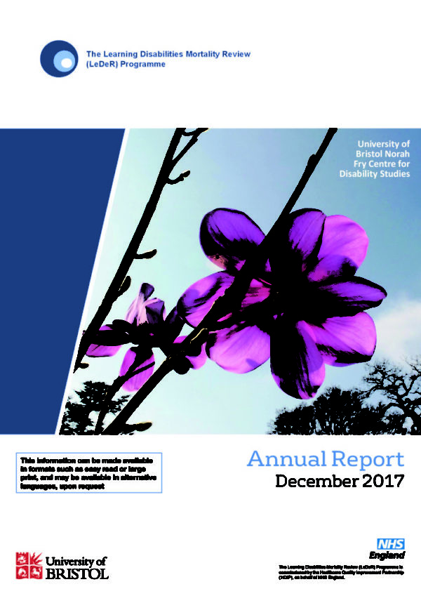 thumbnail of LeDeR annual report 2016-2017 Final