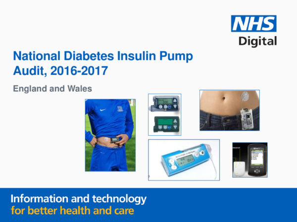 thumbnail of National Diabetes Insulin Pump Audit Report, Main Report, 2016-2017