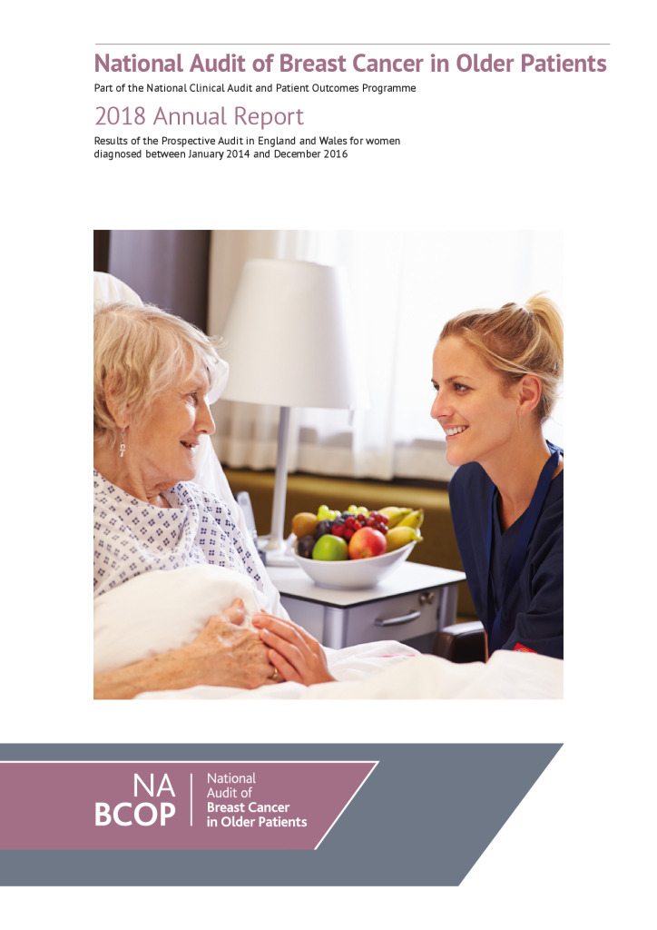 National Audit of Breast Cancer in Older Patients: 2018 Annual Report