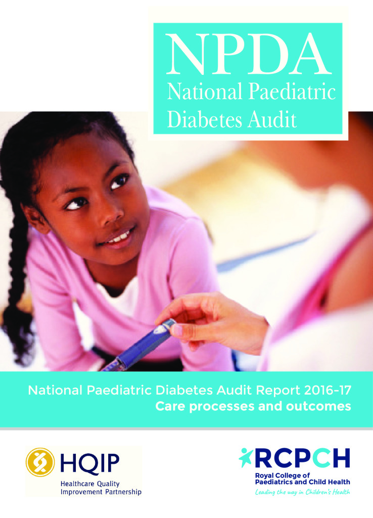 National Paediatric Diabetes Audit Report 2016-17: Care processes and outcomes
